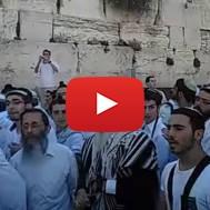 Jerusalem Day Celebration at the Western Wall