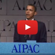 President Obama 2008 AIPAC Speech Supporting Jerusalem and Israel
