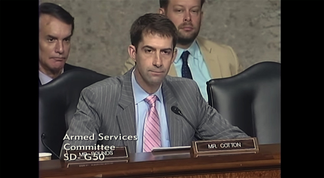 Senator Tom Cotton Reveals the Absurdity of the Iran Nuclear Deal