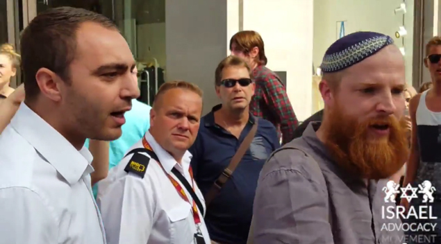 Sole Defender of Israel in London Against Palestinian Antisemite Activists