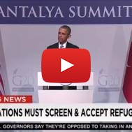 The Media Bashes President Obama Over ISIS Strategy and Bringing in Syrian Refugees