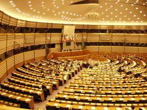 European Union Parliament in Brussels