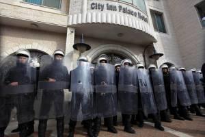 Palestinian authority police