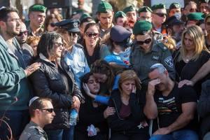 funeral of hadar cohen, terror victim