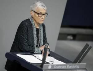 Holocaust survivor Ruth Klueger